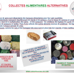 AFFICHE DES COLLECTES ALIMENTAIRES ALTERNATIVES